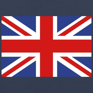 union jack english flag Tank Tops - Men's Premium Tank