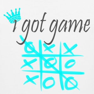 I Got Game tic tac toe - Men's Premium Tank