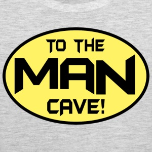 To The Man Cave Tank Tops - Men's Premium Tank