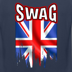 british swag Tank Tops - Men's Premium Tank