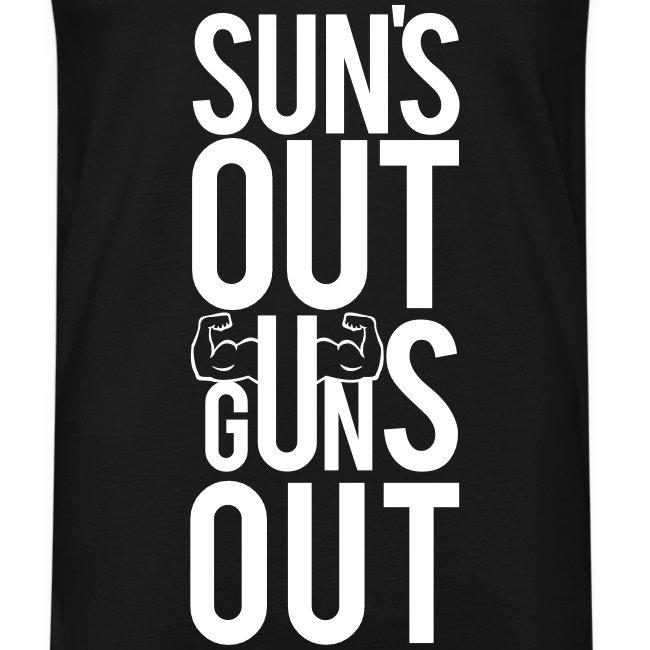 Suns out guns out | Mens tank