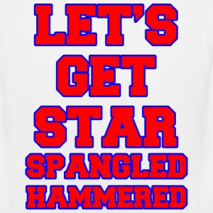 Let's Get Star Spangled Hammered Design Tank Tops - Men's Premium Tank