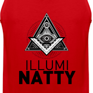 Design ~ ILLUMINATTY - TankTop (black text)