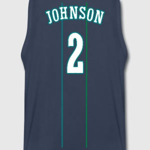 JOHNSON #2 THROWBACK Tank Tops - Men's Premium Tank