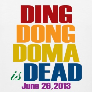 Ding Dong DOMA is Dead Tank Tops - Men's Premium Tank