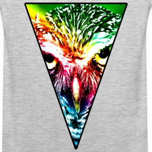 Rainbow Owl Tank Tops - Men's Premium Tank