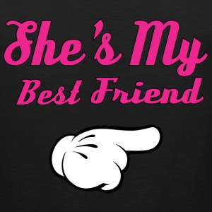 She's My Best Friend Tank Tops - Men's Premium Tank