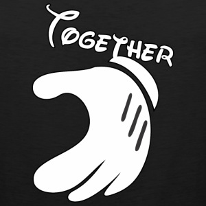 Together Mickey Hand Men's Tank Top - Men's Premium Tank