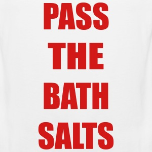 Pass The Bath Salts Funny Vector Design Tank Tops - Men's Premium Tank