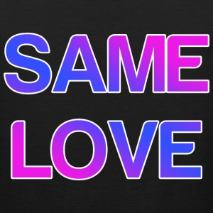 Same Love LGBT Design Tank Tops - Men's Premium Tank