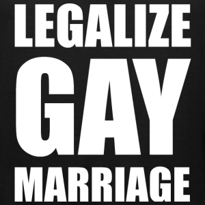 Legalize Gay Marriage LGBT Design Tank Tops - Men's Premium Tank