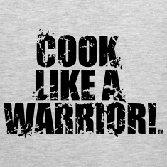 COOK LIKE A WARRIOR! MOTTO Tank Tops