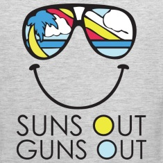 Suns Out Guns Out Shirt Bro Tank