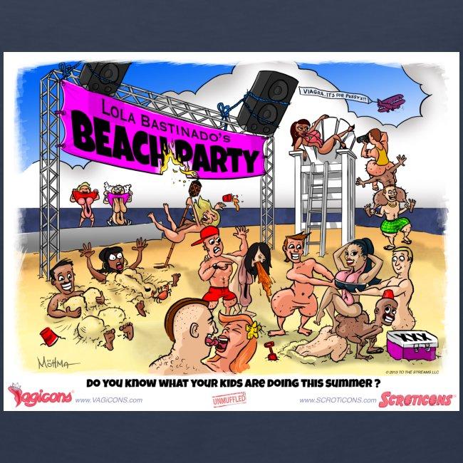 Miss Lola's Beach Party 2013!!  Men's Tank