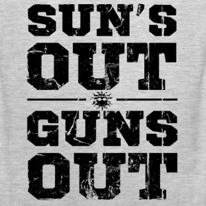 suns out guns out - Men's Premium Tank