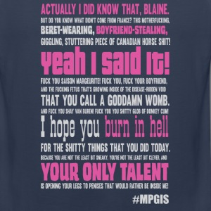 Most Popular Girls Burn Speech Men - Men's Premium Tank