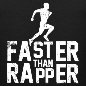 faster_than_rapper Tank Tops - Men's Premium Tank
