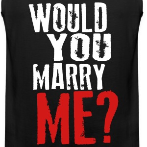Would you marry me - Men's Premium Tank