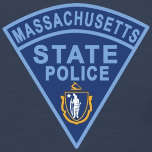 Massachusetts State Police Patch Tank Tops - Men's Premium Tank