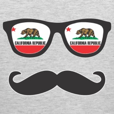 Mr Mustache California Tank Tops