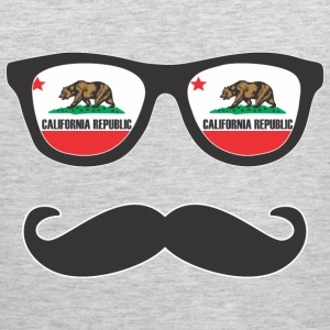 Mr Mustache California Tank Tops - Men's Premium Tank