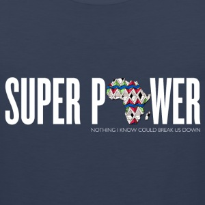 Africa Super Power Men's Tank Top - Men's Premium Tank