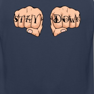 Corey Graves - STAY DOWN - Men's Premium Tank