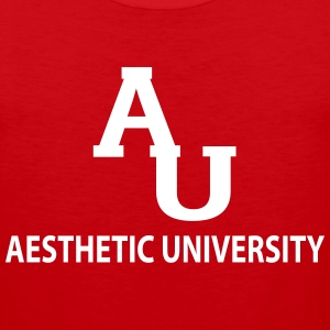 Aesthetic University Tank Tops - Men's Premium Tank