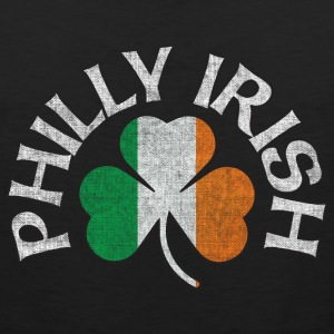 Philly Irish Shamrock Flag Apparel Tank Tops - Men's Premium Tank