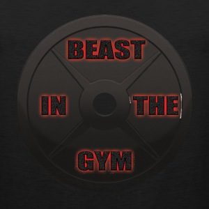 Beast In The Gym Tank Tops - Men's Premium Tank