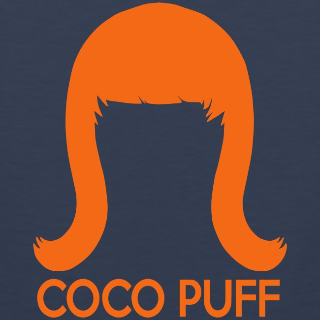 Coco Puff Logo - Men's Premium Tank
