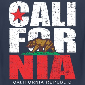 California Republic Bear dotted Tank Tops - Men's Premium Tank