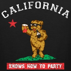Young California Knows To Party Tank Tops