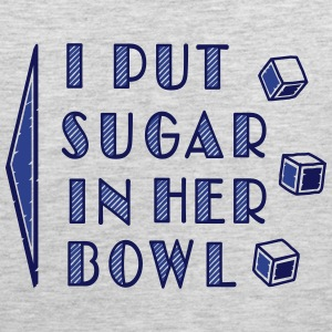 sugar in bowl - for men Tank Tops - Men's Premium Tank