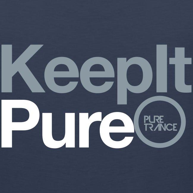 Keep It Pure (Silver Metallic / White) [Male]