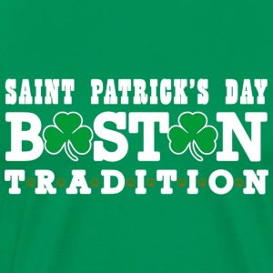 Saint Patrick's Day Boston Tradition Apparel T-Shi - Men's Premium T-Shirt