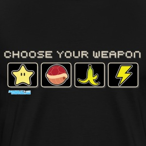 Choose Your Weapon - Men's Premium T-Shirt