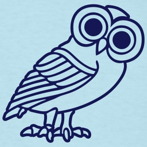 greek owl T-Shirts - Men's T-Shirt