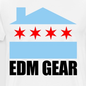 Edm Gear Logo - Men's Premium T-Shirt