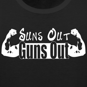 Suns out Guns out! - Men's Premium Tank