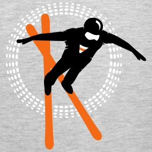 Freestyle skiing  Tank Tops - Men's Premium Tank