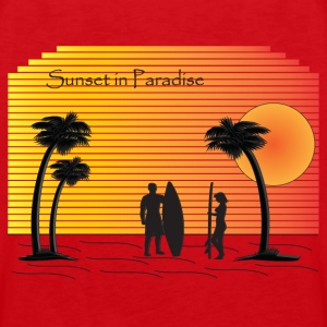 Sunset in Paradise - Men's Premium Tank