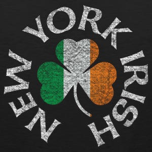 new_york_irish_shamrock_flag_clothing_apparel Tank Tops - Men's Premium Tank