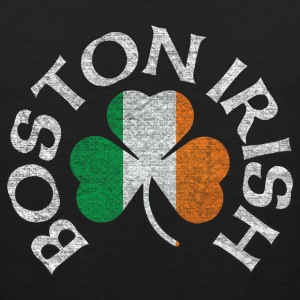 Boston Irish Shamrock Flag Clothing  Tank Tops - Men's Premium Tank
