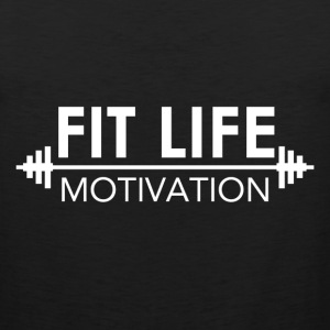 Fit Life Motivation Logo Tank Tops - Men's Premium Tank