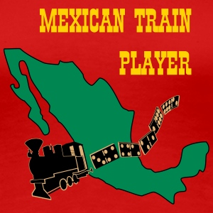 Mexican Train3 Women's T-Shirts - Women's Premium T-Shirt