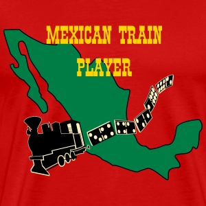 Mexican Train3 T-Shirts - Men's Premium T-Shirt