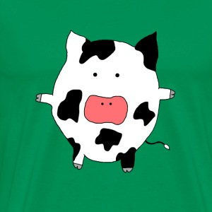 Funky Moo Cow - Men's Premium T-Shirt