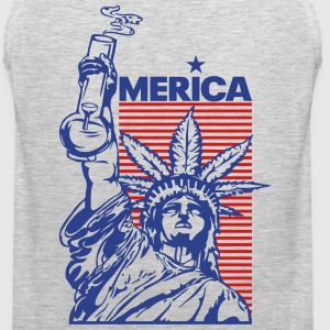 'merica (2 Color) Tank Tops - Men's Premium Tank