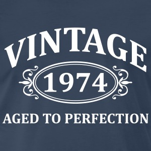 Vintage 1974 Aged to Perfection T-Shirts - Men's Premium T-Shirt